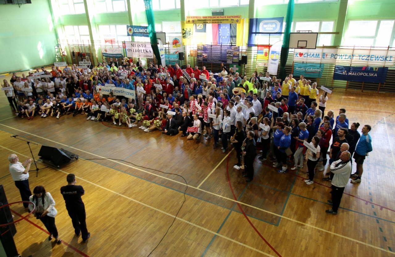 MOSiR Reda zaprasza na XXI Mistrzostwa Polski Pracowników Samorządowych w Piłce Siatkowej-Regulamin